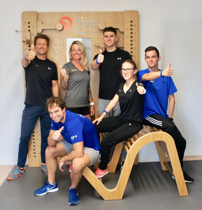 Toms Training Jegenstorf Gesundheitszentrum Fitnessstudio Team
